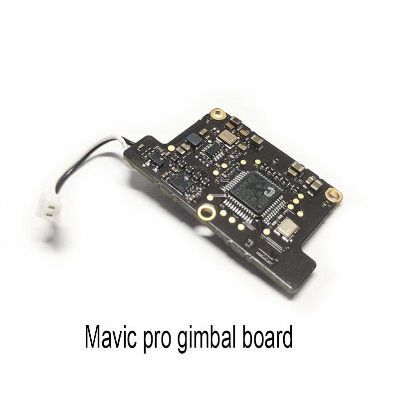 Gimbal Control Board For DJI Mavic Pro 100% Brand New Original Drone Repair Parts original gimbal camera forward sensor control board for dji mavic pro drone replacement gimbal sensor control board repair parts