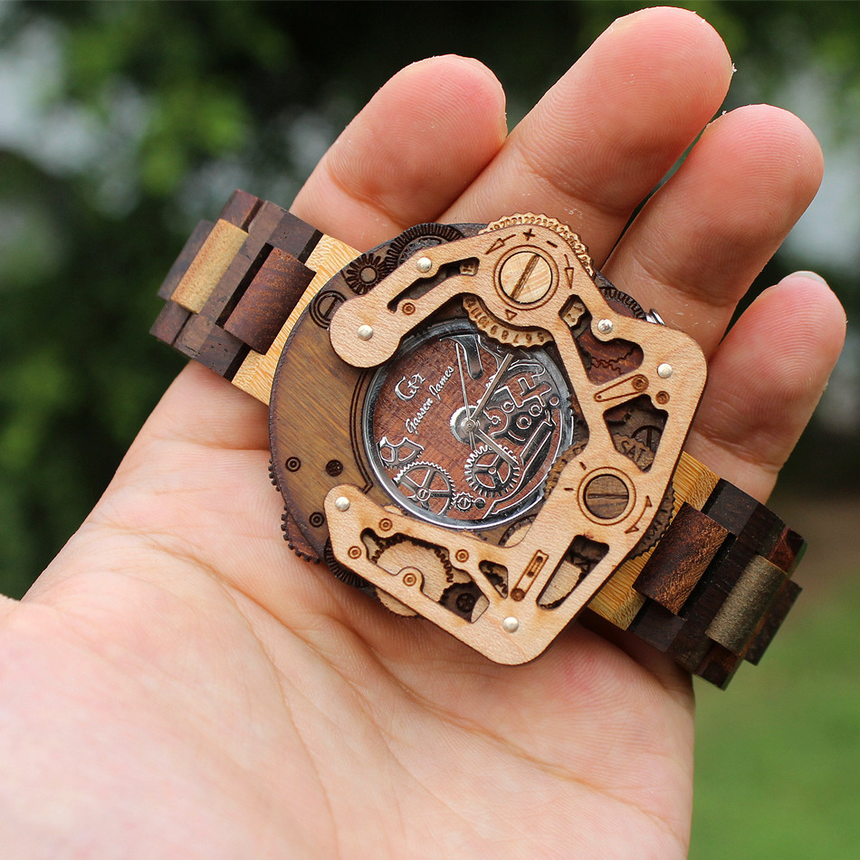 Handmade Limited Unique High Quality Wood Watches Men with ...