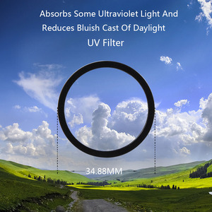 Image 4 - Mijia 4K Action Camera Filter Color/CPL/ND 2 4 8 16 32/UV Protect Lens Filters For Xiaomi mijia mini 4K Sport Camera Accessories
