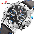 Мужские Часы Лучший Бренд Класса Люкс Мужчины Водонепроницаемый Спортивные Часы Мужчины Кожа Моды Случайные Кварцевые Наручные Часы Relogio мужской 80189