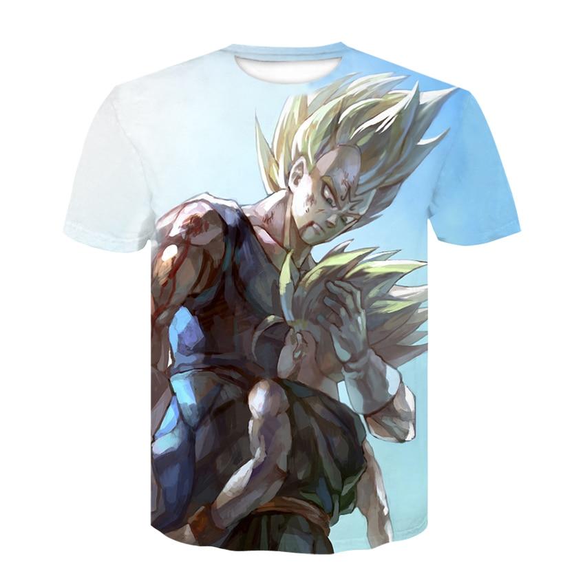 Anime 3 D Saiyan Sweatshirt Men Dragon Ball Z  Printed Mens Hoodies and Sweatshirts Hip Hop Style Casual 3 D print T-shirt