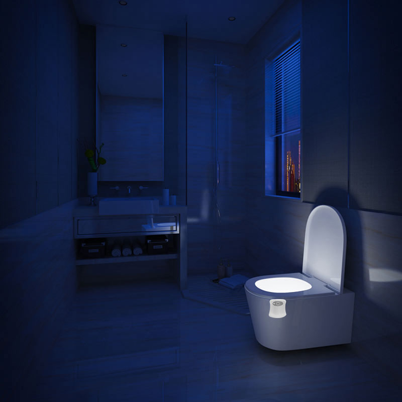 Luzes da Noite higiênico do banheiro inteligente luz Function : For Bathroom Toilet Seat Light