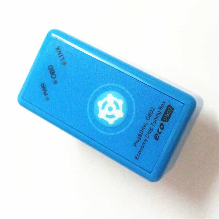 EcoOBD2 Economy Chip Tuning Box For Benzine 15% Fuel Save Plug&Drive OBD 2  Scanner Eco OBD2 With Reset Button