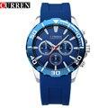 Top Quality Men Military Reloj Curren 8185 Top Luxury Brand Casual Japan Quartz Movement Waterproof Watches Relogio Masculino