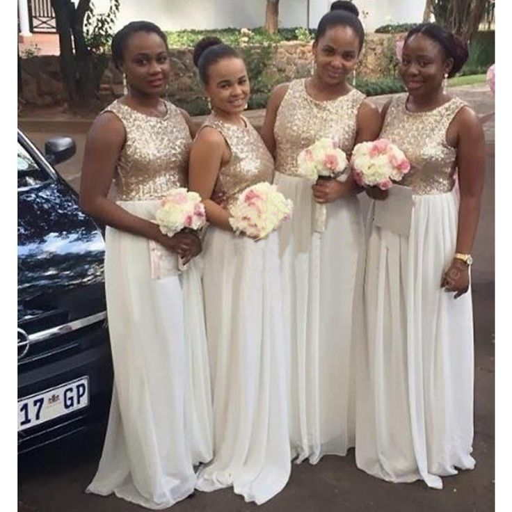 Ivory Bridesmaids Dress - Ocodea.com