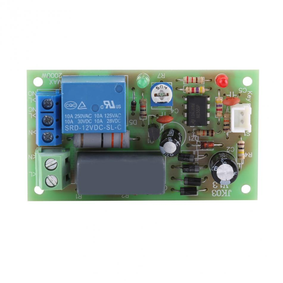 Ac220v Relay Timer Module Switch Trigger Time Delay Circuit Timer Cycle Adjustabl Timer Delay