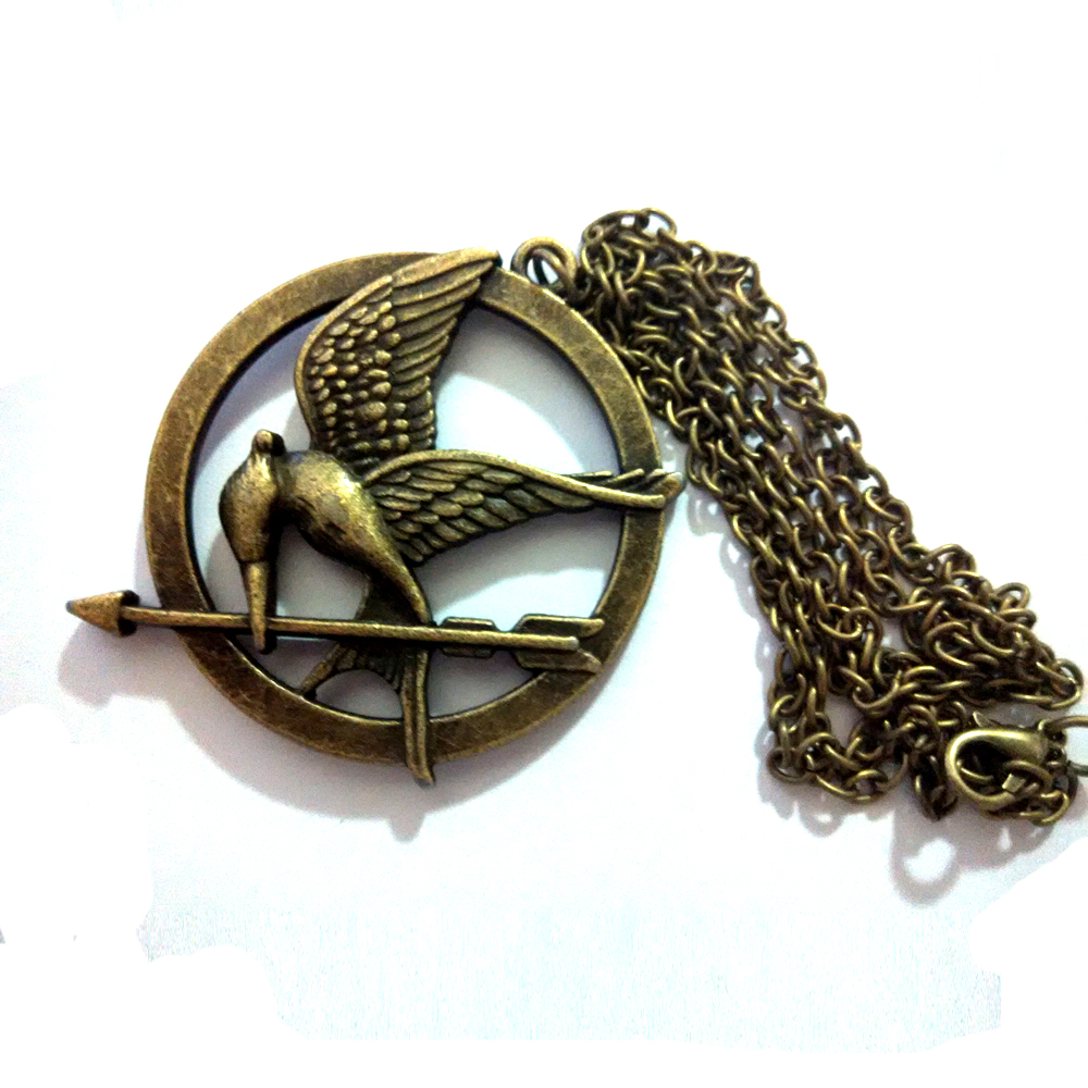 The Hunger Games Necklace Pendant Bird laugh Television Series