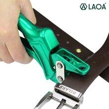 LAOA เจาะคีมสำหรับเข็มขัด Punch ปุ่ม