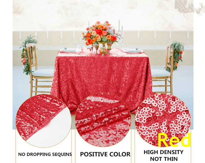 sequin tablecloth29