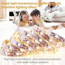 5V USB Led Strip 5M Flexible Fita Tira Led Light Strip Cocina Closet Kitchen Decor Lamp Bar 2835 SMD TV PC Background Lighting