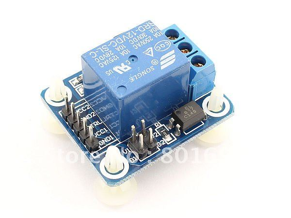 Подробнее о Brand New DC 12V Relay Module Voltage Relay Control Board with Optocoupler SRD-12VDC-SL-C dc relay module control board 12v switch load voltage protective detection test y103