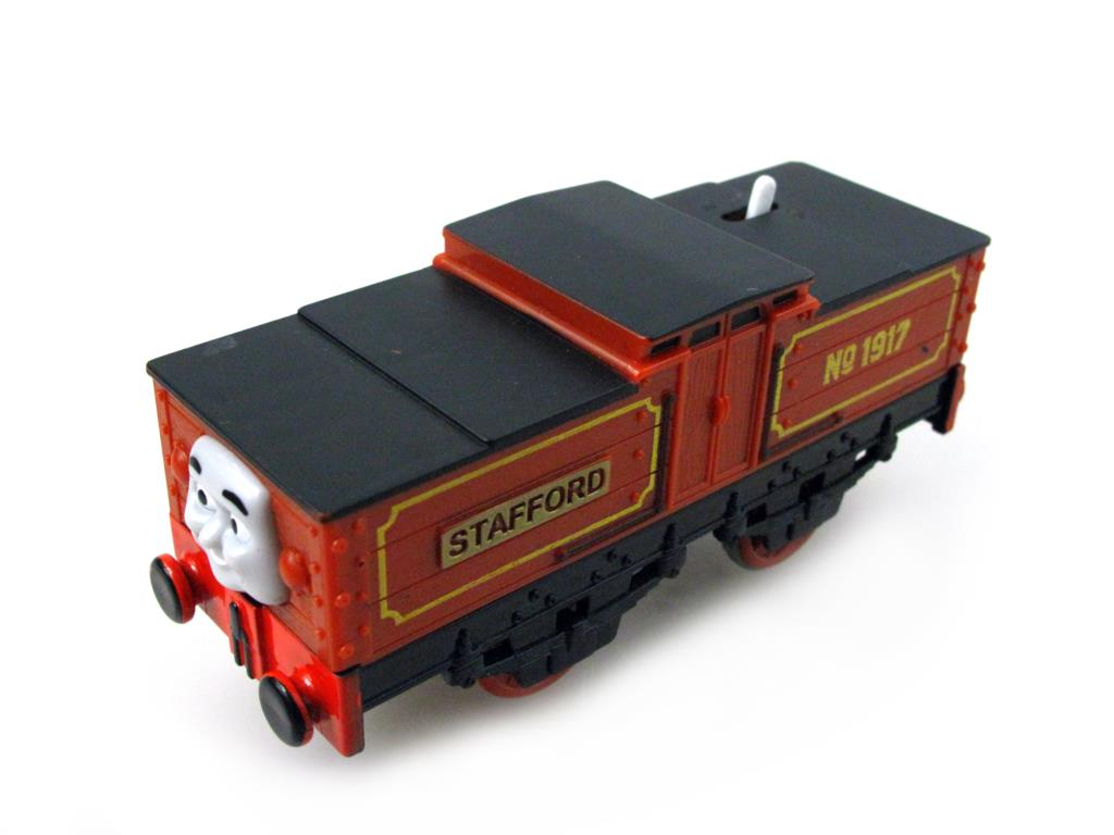 Electric Thomas Train T127E STAFFORD Thomas And Friends Trackmaster Magnetic Tomas Truck Car Engine Railway Toys for Boys