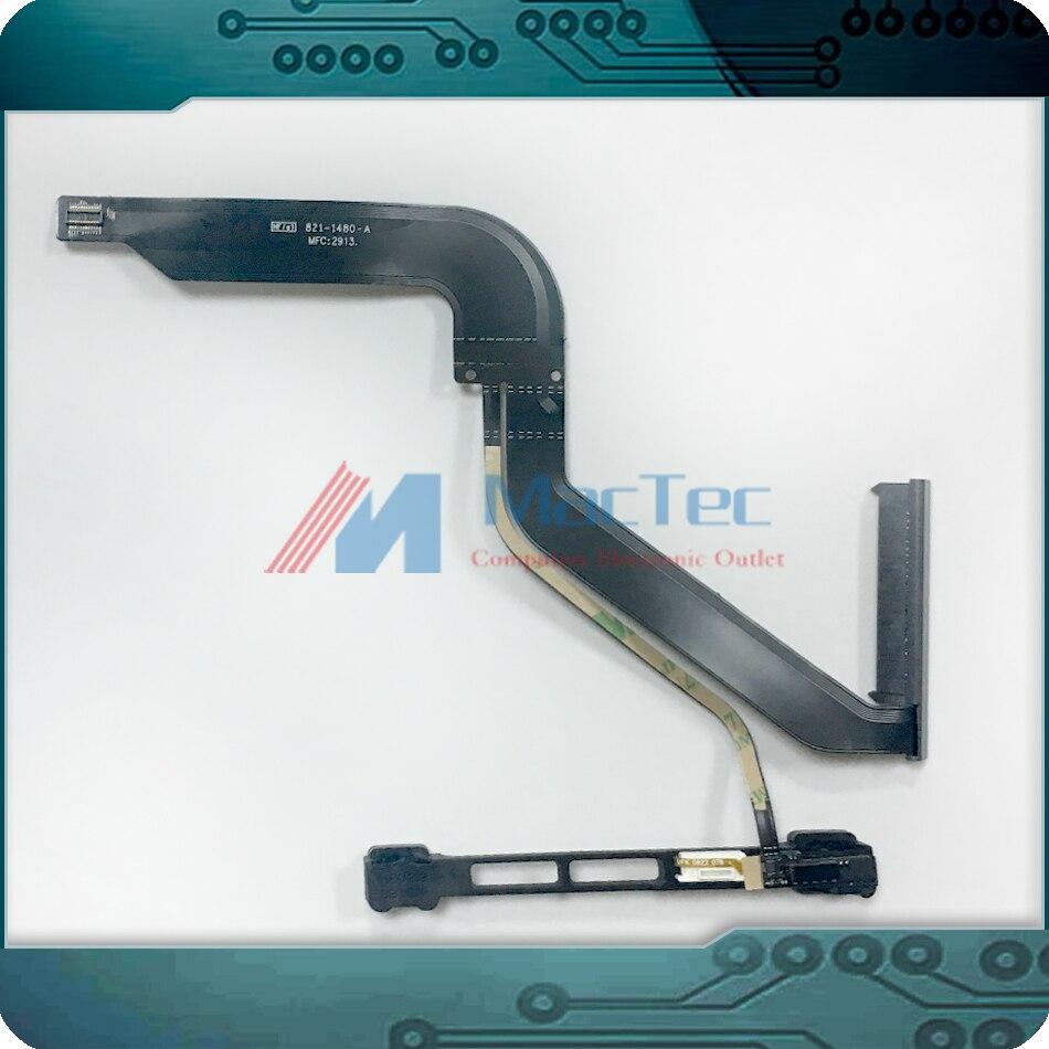 NEW 821-1480-A HDD Hard Drive Cable for MacbookPro Unibody 13 A1278 w/ Hard Drive IR SleepSensor Indicator Bracket 2012 Year