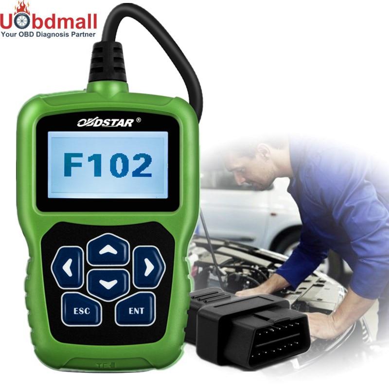 imágenes para OBDSTAR F102 para Nissan/Infiniti Altima Teana X-trail Qashiqai Seguridad Pin Code Lector Immo Corrección Del Odómetro función