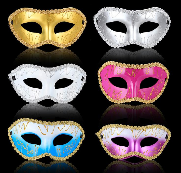 on sale cosplay man mask sexy cosplay dance costume venetian masquerade party mask christmas gift 100pcs/lot free shipping