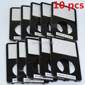 10PCS Free Shipping Original Faceplate Front Cover Panel Housing for  iPod Video 5th 5Gen 5.5th 30GB 60GB 80GB Replacement Black