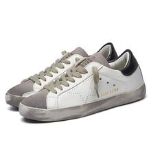 2017 Designer Golden pu leather Casual Men trainers Sport Star dirty Goose Shoes Footwear Zapatillas basket