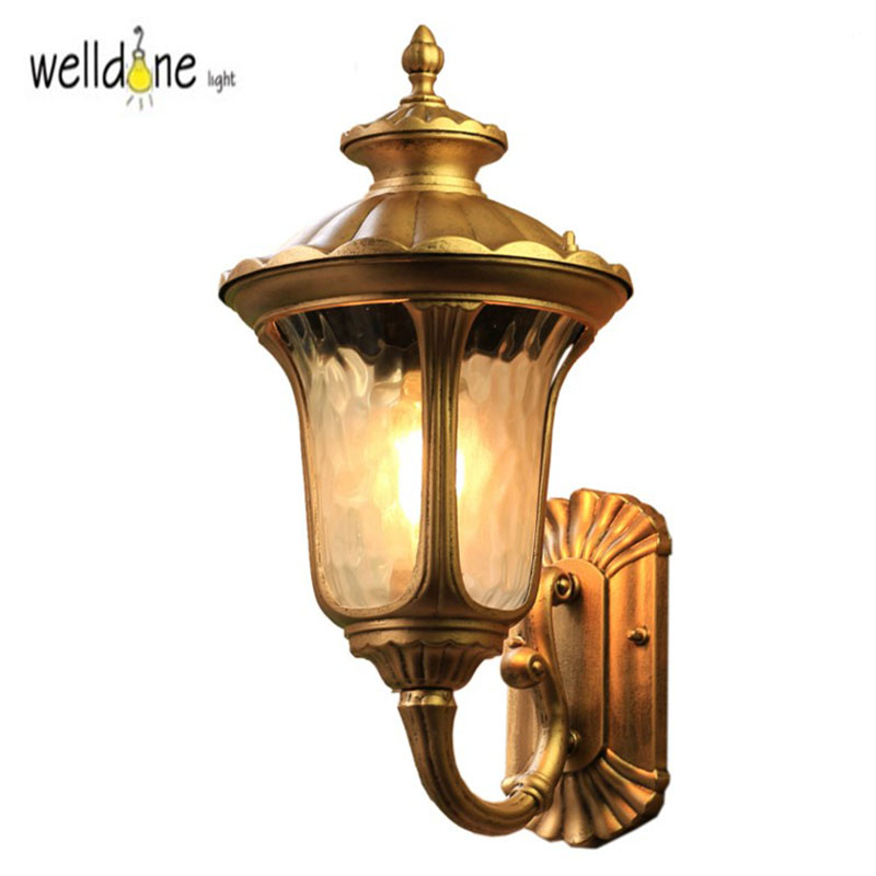 Retro Outdoor Wall Light Favorable