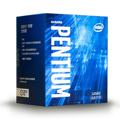 original Intel Pentium G4560 Processor 3MB Cache 3.50GHz LGA1151 Dual Core Desktop PC CPU G 4560 Box verison with cooler