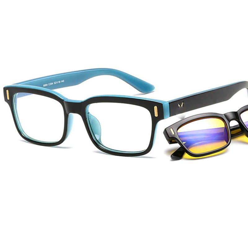 587f775c4e Fashion Square Glasses For Women Men Anti Blue Rays Computer Glasses Blue  Light Gaming Glasses Protection