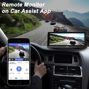 """Image 5 - Bluavido 8 """"Android 4G araba dvrı kamera GPS Navigasyon ADAS FHD 1080P araba video kaydedici Gece Görüş WiFi uzaktan kontrol monitörü Dash kamera"""