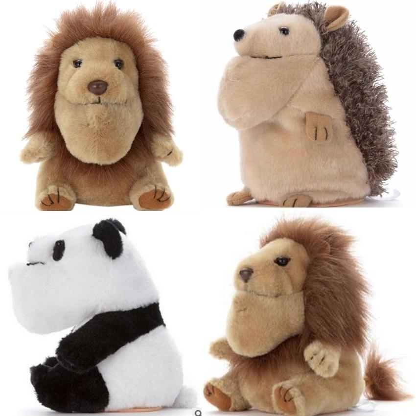 New Panda Lion Hedgehog Rabbit Plush Toy Forest Animal Doll