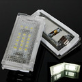 2X Free Error 18 LED 3528 SMD Del Coche de La Matrícula Luces bombillas Auto Accesorios Para Bmw 323i 325i 328i E46 4D 4 Puertas 5D