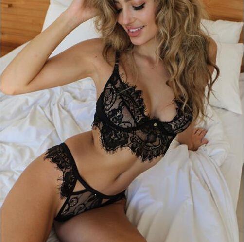 HTB1VLH9KpXXXXbnXXXXq6xXFXXXE - FREE SHIPPING Sexy Women Underwear Lace Bra Sets JKP349