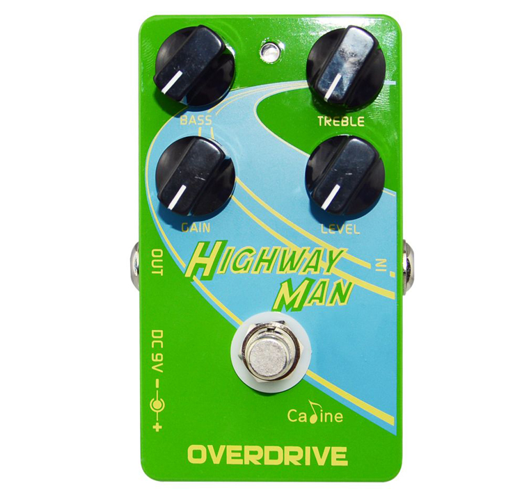 High Quality Caline CP-25 Highway Man Overdrive Guitar Effect Pedals True Bypass Effect Pedal Excellent Guitar Accessories проектор viewsonic pro8520wl dlp 1280x800 5200ansi lm 5000 1 usb hdmi