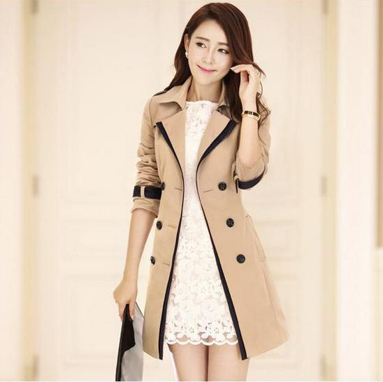 Popular Tan Trench Coats-Buy Cheap Tan Trench Coats lots from