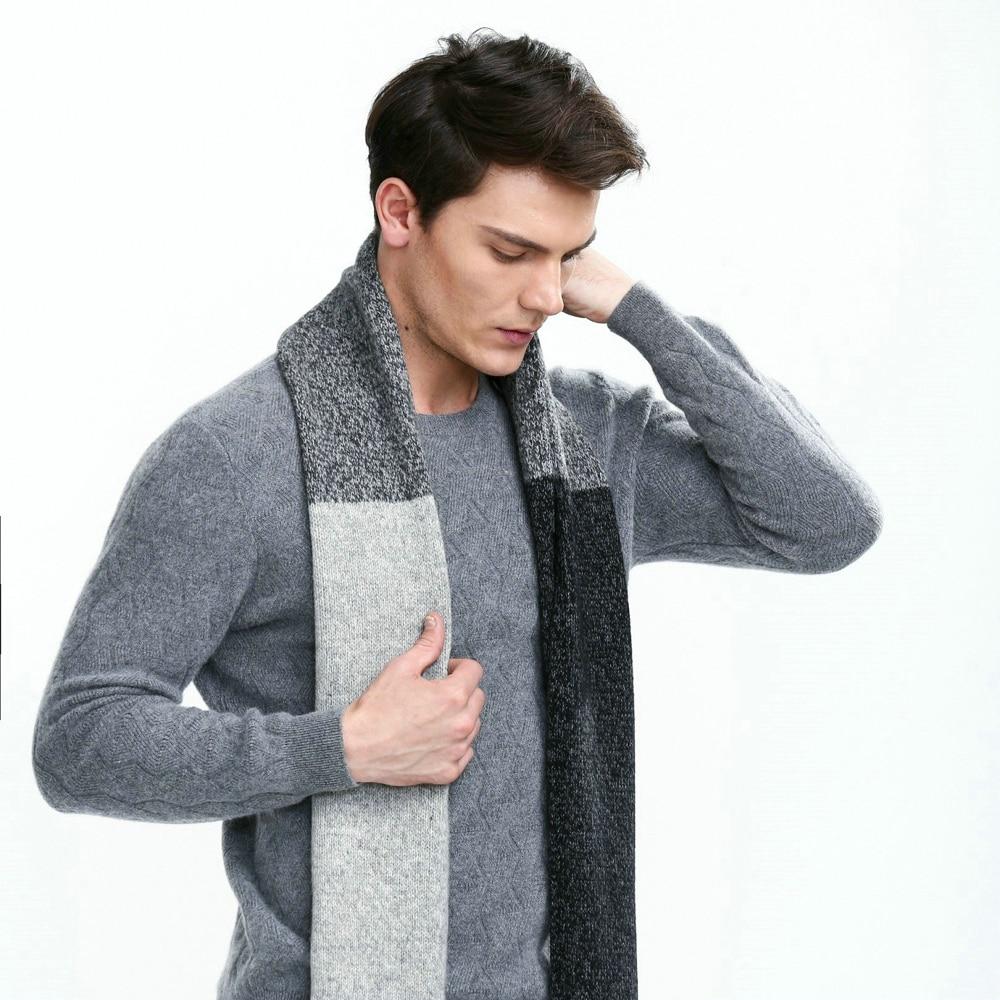 2018 KBB Printemps Unisexe Femmes Hommes Plaid Fil Tricot Chaud Adulte De  Mode Wrap Pourpre D hiver Écharpe ... 964105fcc56
