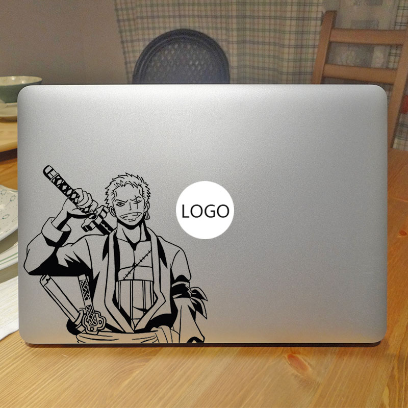 One Piece Roronoa Zoro Laptop Decal Sticker for Macbook