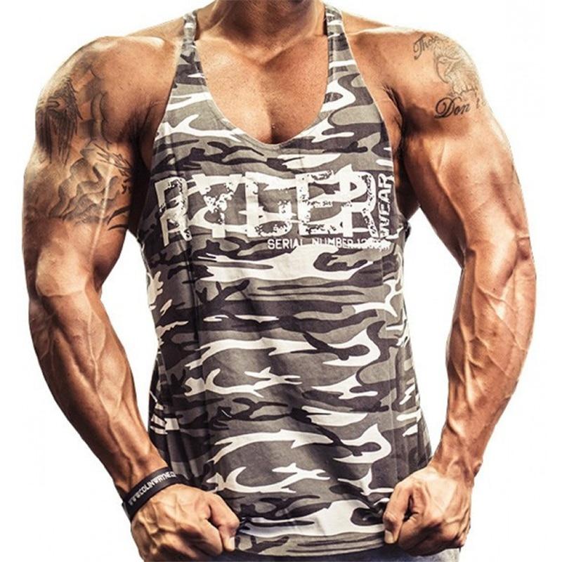 2017 Neue Marke Herren Tank Tops Turnhallen Mode Mann Sleeveless Unterhemden Für Männer Bodybuilding Tank Tops Casual Sommer Weste M-xxl