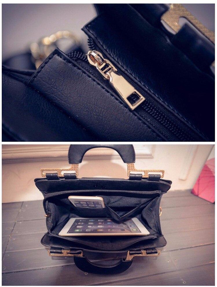 Fashion Luxury Designer Brand PU Leather Women Handbags