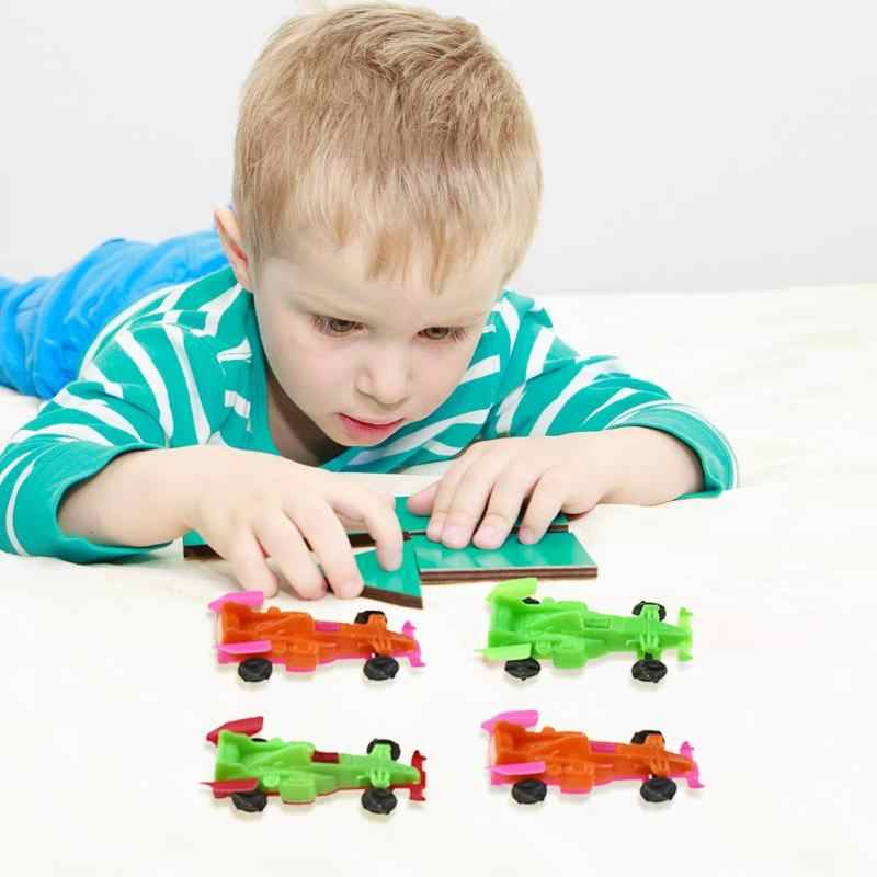 1 مجموعة صغيرة Vehicles بها بنفسك المركبات تجميع لعبة الكبسولات ألعاب أطفال هدية سيارة نموذج المركبات هدايا للأطفال لعبة