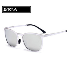 Silver Frame Sunglasses Aluminium Magnesium Top Quality Brand Design EXIA OPTICAL KD-0719 Series