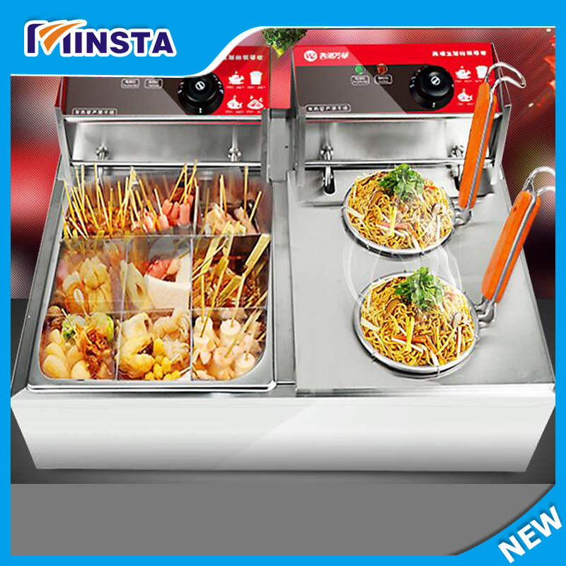 commercial Kanto Cooking Equipment | Snack Food Oden Machine/spicy food boiler commercial 2 cylinder 18 frames electric kanto cooking machine snack equipment cooking pot oden machine110v 220v