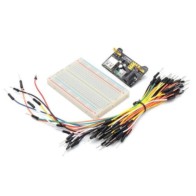 65 teile/satz Stecker stecker Breadboard Kabel Überbrückungskabel ...