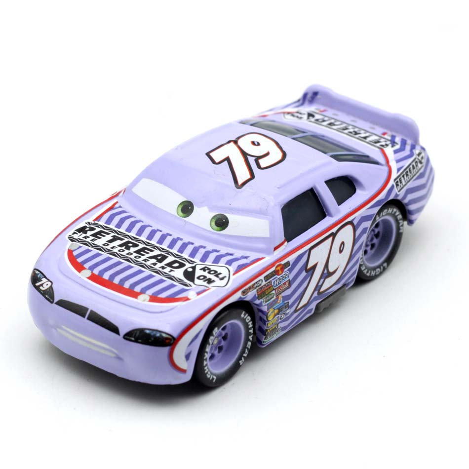 Disney Pixar Cars 3 1:55 Role No.79 Weathers Lighting McQueen Diecast Metal Car Model New Year 2018 Best Gifts For Boys Kids