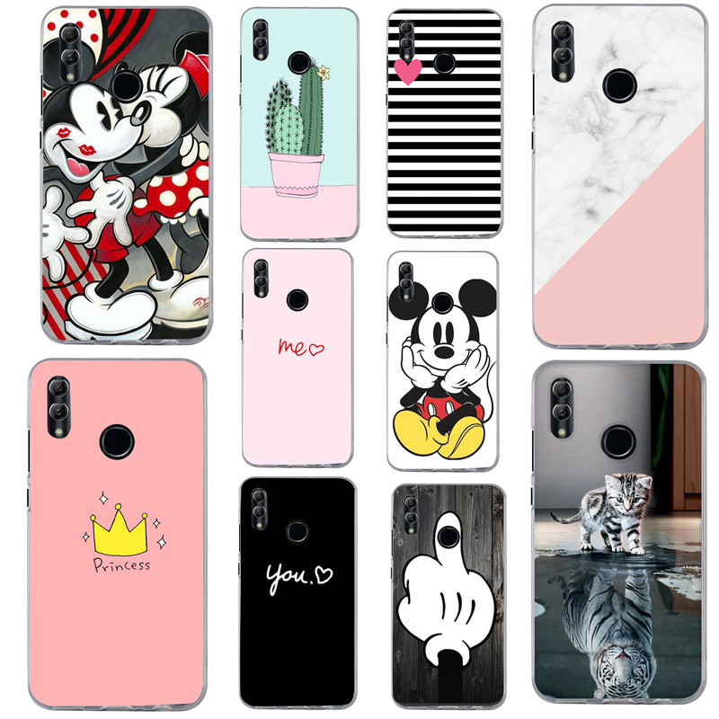 For Huawei <font><b>Honor</b></font> <font><b>9</b></font> <font><b>Lite</b></font> Case Cover for Huawei <font><b>Honor</b></font> 10 <font><b>Lite</b></font> Case funda <font><b>Bumper</b></font> Silicon Phone Protector Coque Capa on P Smart 2019 image