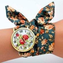 Ladies Flower Wristwatch