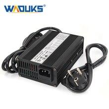 Cargador de iones de litio de 29,4 V y 5A para 7S, 24V, 25,9 V, con ventilador de refrigeración, cargador de batería de litio inteligente de 29,4 V