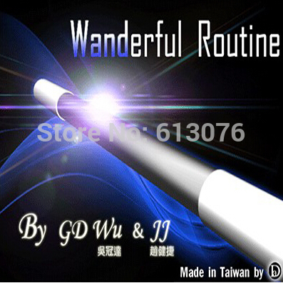 La rutina del viajero-truco de magia, magia de palo, truco, ilusión, magia escénica