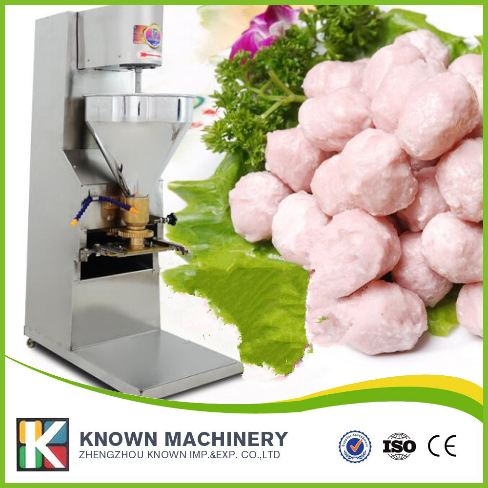 Professional manufacture 300r/min mini meatball making machine for sale with CFR price shipping by sea ce iso under 6cm wide and length unlimited little fish killer machine with cfr price shipping by sea