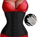 Plus size postpartum abdomen belt shaper waist trimmer support girdle corset slimming suit body shaper weight loss