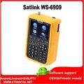 """Satlink ws-6909 frete grátis 3.5 """"lcd satlink dvb-s & dvb-t combo medidor de satélite/finder medidor de combinação satlink 6909"""
