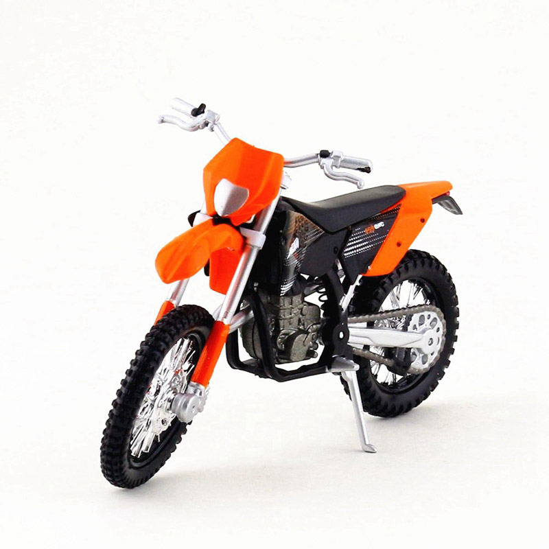 1:18 Scale Maisto KTM Motorcycle Toy, Diecast Metal & ABS 450 EXC Model, Collectible Motorbike Car Toy, Kids Toys, Brinquedos