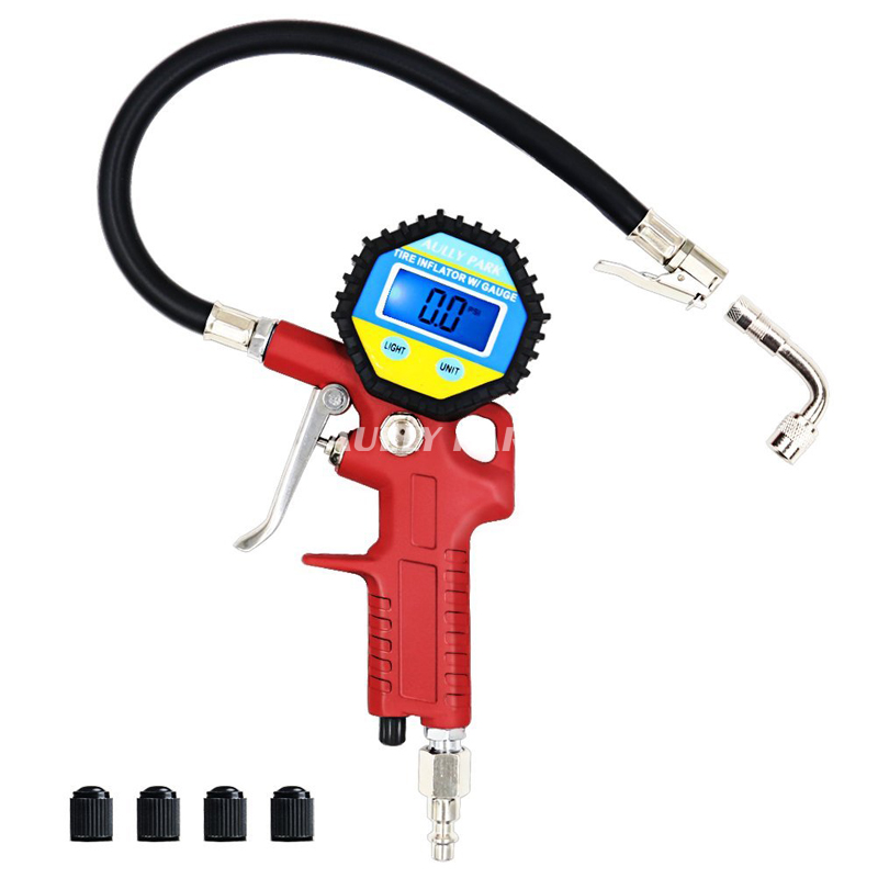 High Precision Digital Tire Pressure Gauge For Car Motorcycle SUV Inflated Pumps Deflated Tire Repair Tools