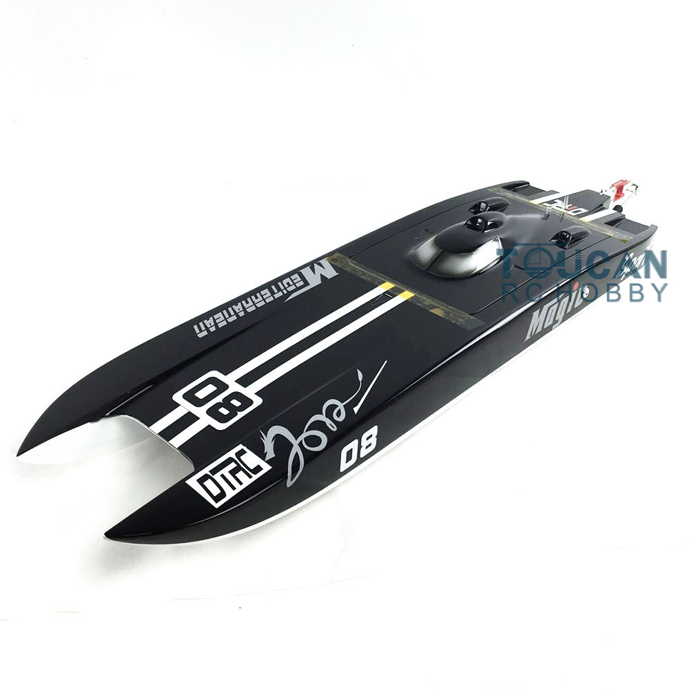 E32 PNP Cheetah/Germany Cat Fiber Glass Electric Racing Speed RC Boat W/120A ESC/3200KV Brushless Motor/Water Cooling Black e36 pnp sword fiber glass racing speed rc boat w 1750kv brushless motor 120a esc servo boat red