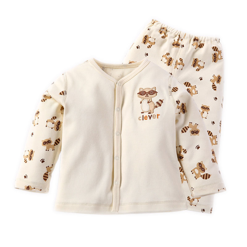 Newborn Baby Boy Girl Organic Cotton Long Sleeve Winter Sets Clothes Infant Toddler Unisex Baby Casual Outfit Bebe roupas suit newborn baby romper winter clothes hooded cotton outdoor roupas para recem nascido long sleeve baby boy winter thick 607022
